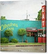 Clanton's Cafe Acrylic Print