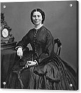 Clara Barton (1821-1912) Acrylic Print