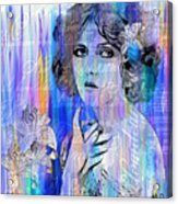 Clara Bow I'll See You In New York Acrylic Print