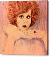 Clara, Redhead Acrylic Print