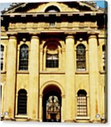 Clarendon Building, Broad Street, Oxford Acrylic Print