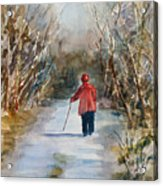 Clare's Lane Acrylic Print