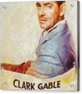 Clark Gable, Actor Acrylic Print