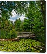 Clark Gardens Botanical Park Acrylic Print