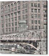 Clark Street Bridge Acrylic Print