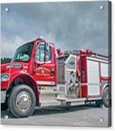 Clarks Chapel Fire Rescue - Engine 1351, North Carolina Acrylic Print
