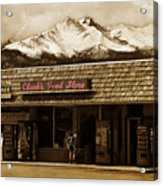 Clarks Old General Store Acrylic Print