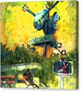 Clarksdale Authentic Madness Acrylic Print