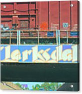 Clarksdale Overpass Acrylic Print