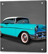 Classic 1957 Chevrolet Bel Air Sport Coupe Acrylic Print