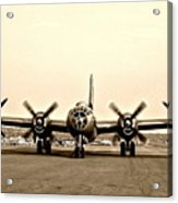 Classic B-29 Bomber Aircraft Acrylic Print
