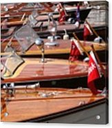 Classic Boats Acrylic Print