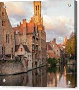 Classic Bruges Acrylic Print
