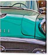Classic Buick Acrylic Print by Mamie Thornbrue