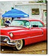 Classic Cadillac Acrylic Print