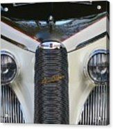 Classic Car Front End Acrylic Print