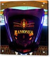 Classic Car Hood Ramones  Acrylic Print