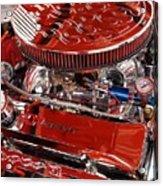 Classic Chevrolet Engine Acrylic Print