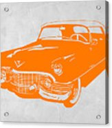 Classic Chevy Acrylic Print by Naxart Studio