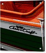 Classic Chris Craft Sea Skiff Acrylic Print