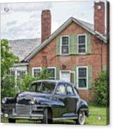 Classic Chrysler 1940s Sedan Acrylic Print