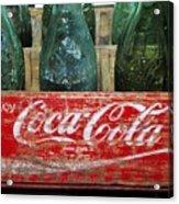 Classic Coke Acrylic Print