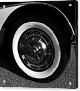 Classic Corvette Lines Acrylic Print