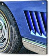 Classic Corvette Mako Shark 1965 Acrylic Print