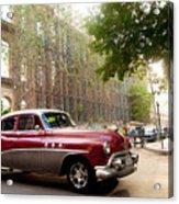 Classic Cuba Car Vii Acrylic Print