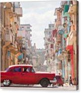 Classic Cuba Car Viii Acrylic Print
