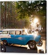 Classic Cuba Car Xii Acrylic Print