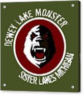 Classic Dlm Logo, Round Acrylic Print