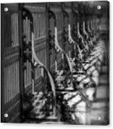 Classic Fence Acrylic Print
