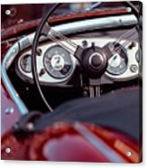 Classic Ford Convertible Interior Acrylic Print