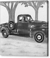 Classic Gmc Truck Acrylic Print