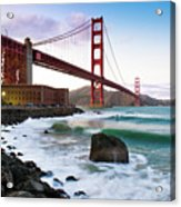 Classic Golden Gate Bridge Acrylic Print