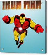 Classic Iron Man Acrylic Print