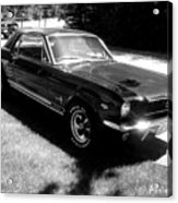 classic Mustang Acrylic Print