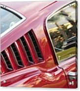 Classic Mustang Fastback Acrylic Print