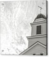 Classic New England Church Etna New Hampshire Acrylic Print