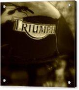 Classic Old Triumph Acrylic Print