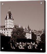 Classic Paris 12c Acrylic Print