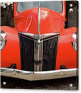 Classic Pick Up Truck Acrylic Print