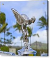 Classic Rolls Royce Hood Ornament Acrylic Print