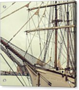 Classic Sail Ship Acrylic Print