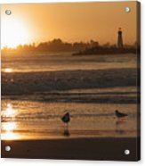 Classic Santa Cruz Sunset Acrylic Print