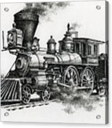 Classic Steam Acrylic Print