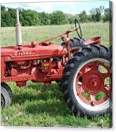 Classic Tractor Acrylic Print