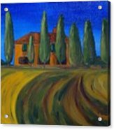 Classic Tuscan Sunset Acrylic Print