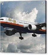 Classic Twa Boeing 757-231 Acrylic Print